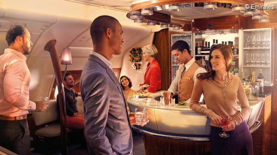 Emirates Business Class - ein exquisiter Abend über den Wolken